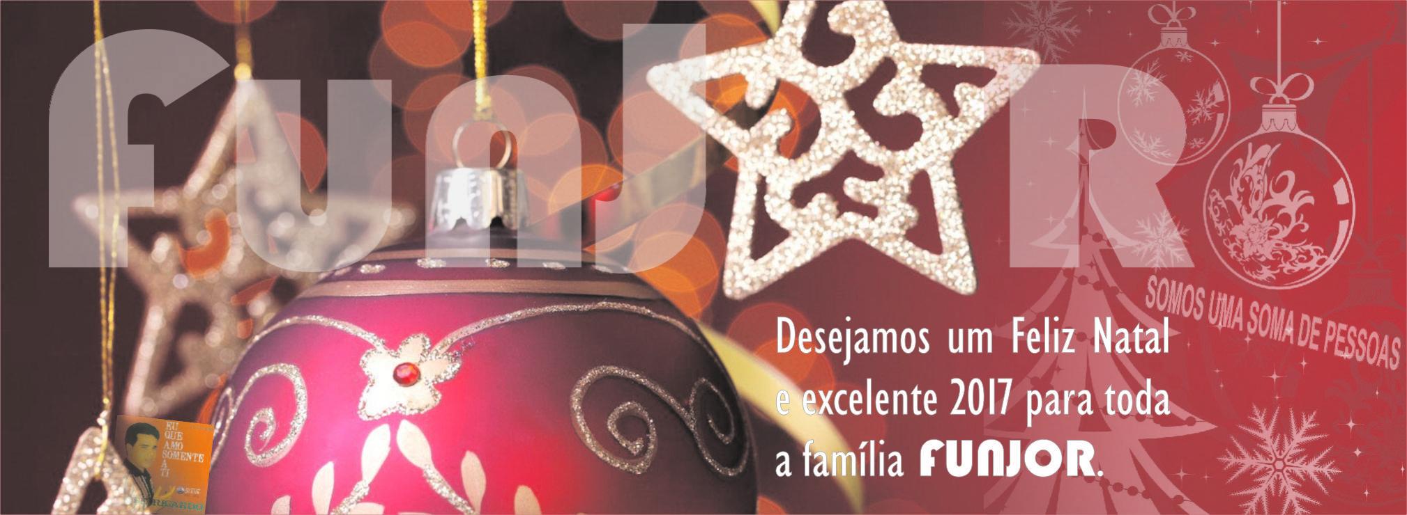 O Instituto FUNJOR deseja um Feliz Natal aos seus associados.